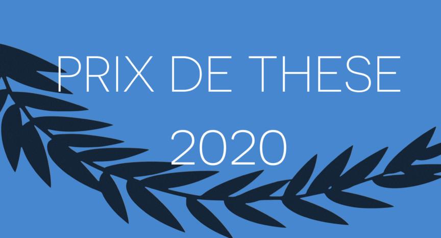 Prix de thèse d'université 2020 - Société Française de Microbiologie